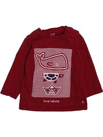 Camiseta de manga larga niño OKAIDI marrón 12 meses invierno #1498679_1