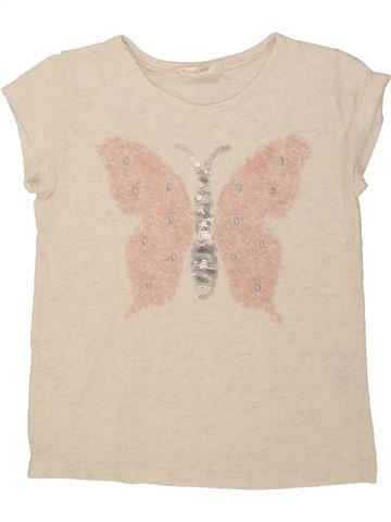 Camiseta de manga corta niña MATALAN beige 9 años verano #1498686_1