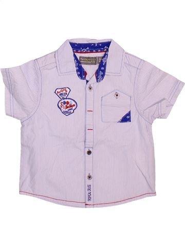 Chemise manches courtes garçon ORCHESTRA blanc 2 ans été #1498690_1