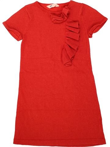 Vestido niña H&M rojo 10 años invierno #1498710_1