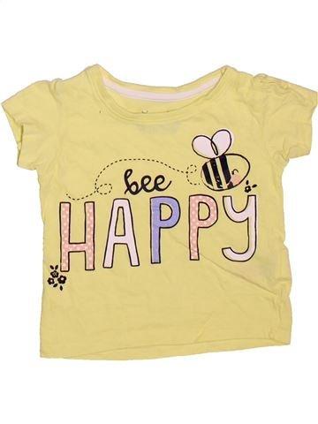 Camiseta de manga corta niña PRIMARK beige 12 meses verano #1498742_1