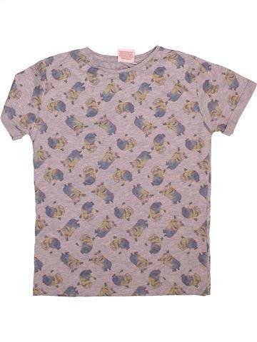 T-shirt manches courtes garçon LES MINIONS rose 11 ans été #1498796_1