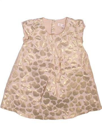 Robe fille KIABI beige 9 mois été #1498811_1