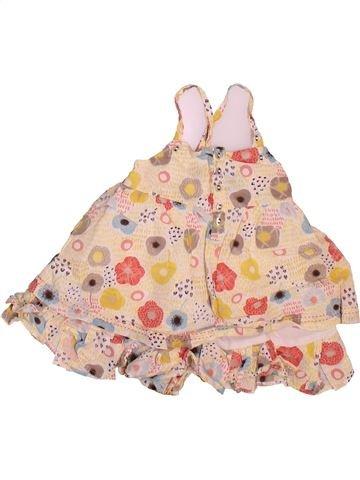 Blusa de manga corta niña MARÈSE beige 12 meses verano #1498822_1