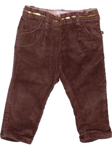 Pantalón niña OKAIDI violeta 12 meses invierno #1498904_1
