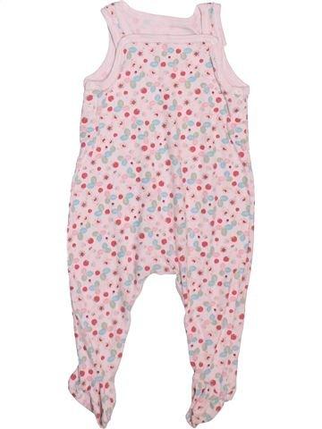 Pijama de 1 pieza niña PETIT BATEAU rosa 6 meses verano #1498912_1