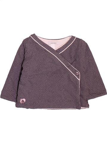 Sudadera niña OKAIDI gris 9 meses invierno #1498913_1