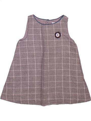 Robe fille OKAIDI gris 6 mois hiver #1498936_1