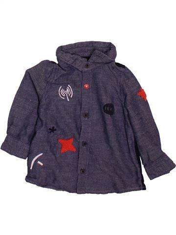 Camisa de manga larga niño IKKS gris 6 meses invierno #1498965_1