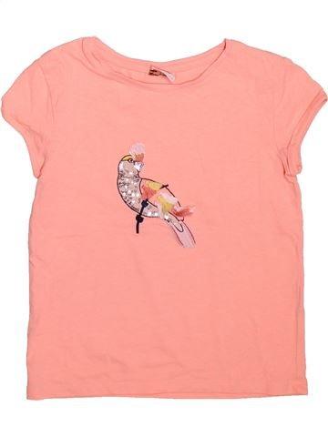 Camiseta de manga corta niña TAPE À L'OEIL beige 5 años verano #1498988_1