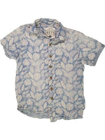 Chemise manches courtes garçon BOYS gris 11 ans été #1499033_1