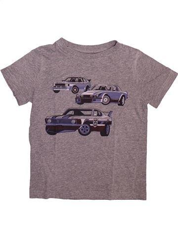 T-shirt manches courtes garçon KIABI gris 8 ans été #1499057_1