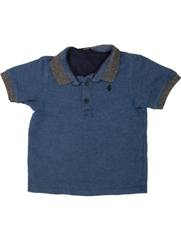 Polo de manga corta niño GEORGE azul 7 años verano #1499139_1