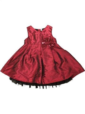 Vestido niña SANS MARQUE rojo 2 años verano #1499151_1