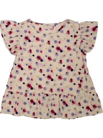Blusa de manga corta niña MATALAN gris 5 años verano #1499212_1