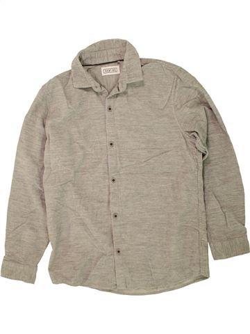 Chemise manches longues garçon NEXT gris 10 ans hiver #1499219_1