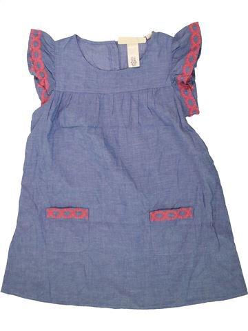 Robe fille H&M bleu 8 ans été #1499300_1