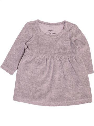 Vestido niña F&F rosa 3 meses invierno #1499306_1