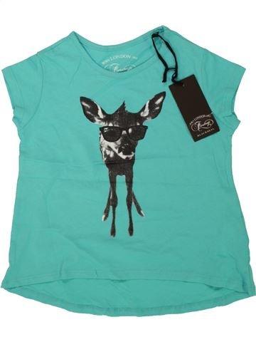 Camiseta de manga corta niña FIRETRAP azul 5 años verano #1499322_1