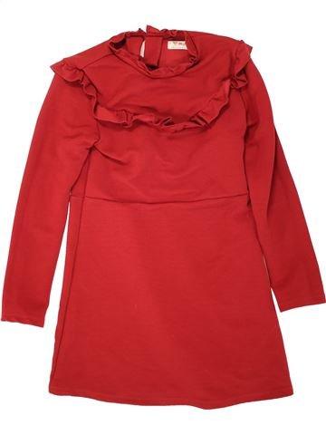 Vestido niña NEXT rojo 10 años invierno #1499345_1