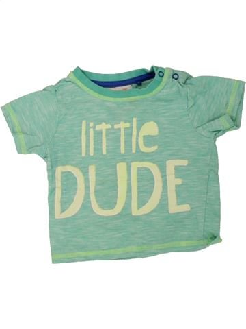 Camiseta de manga corta niño TU verde 12 meses verano #1499390_1