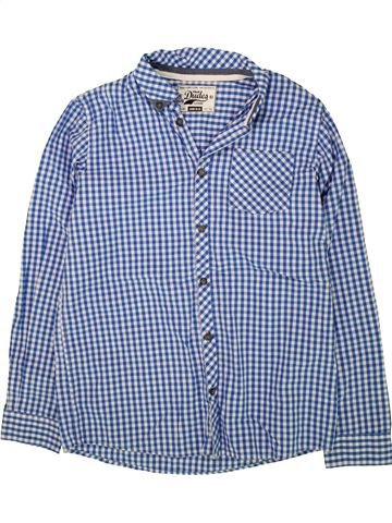 Chemise manches longues garçon TRUE DUDES bleu 13 ans hiver #1499402_1