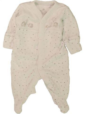 Pyjama 1 pièce garçon NEXT beige naissance été #1499419_1