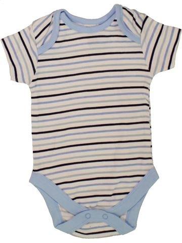 T-shirt manches courtes garçon KING OF NAPS gris 3 mois été #1499431_1