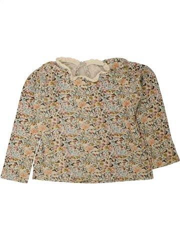 Camiseta de manga larga niña MATALAN beige 5 años invierno #1499446_1