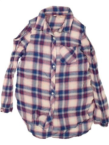 Blusa de manga larga niña MISS E-VIE violeta 10 años invierno #1499509_1