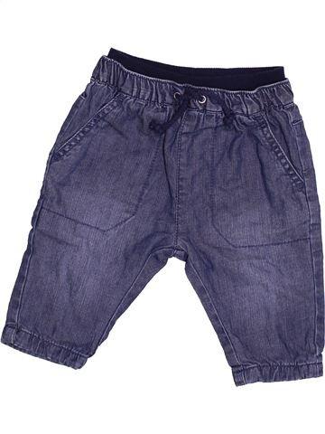 Pantalon garçon MATALAN violet 3 mois hiver #1499512_1