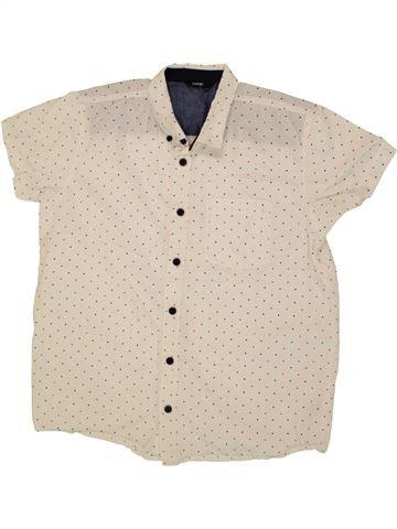 Camisa de manga corta niño GEORGE beige 14 años verano #1499521_1