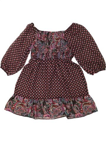 Blusa de manga corta niña TAMMY marrón 11 años verano #1499540_1