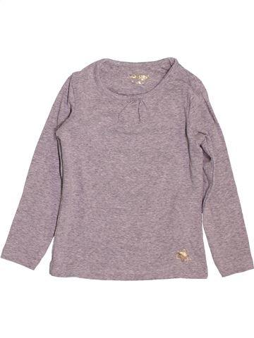 T-shirt manches longues fille ORCHESTRA violet 3 ans hiver #1499546_1