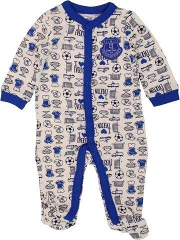 Pijama de 1 pieza niño EVERTON blanco 3 meses verano #1499555_1