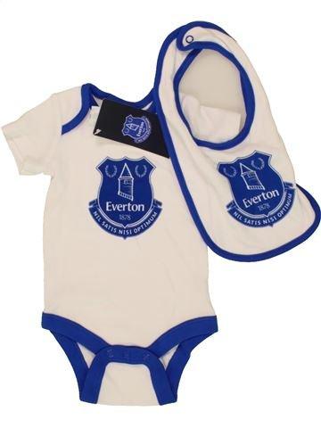 Camiseta de manga corta niño EVERTON azul 3 meses verano #1499556_1