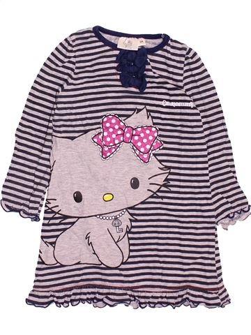 Chemise de nuit fille HELLO KITTY blanc 3 ans été #1499607_1