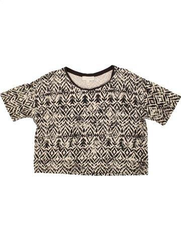 T-shirt manches courtes fille CHARLES VÖGELE gris 12 ans été #1499609_1
