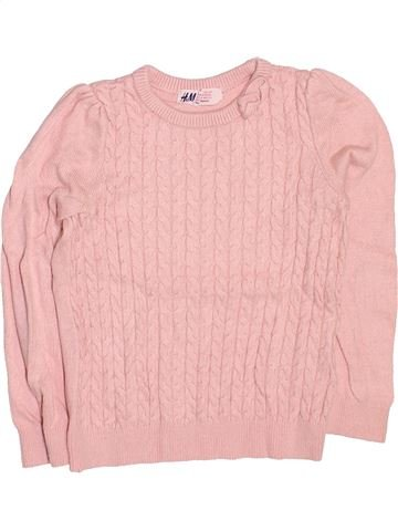jersey niña H&M rosa 4 años invierno #1499623_1