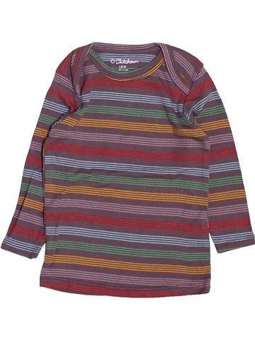 Camiseta de manga larga niño KIABI violeta 18 meses invierno #1499664_1