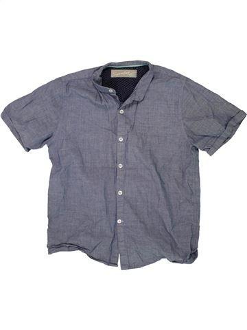 Camisa de manga corta niño NEXT SCHOOL azul 10 años verano #1499706_1