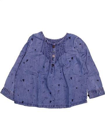 Blusa de manga larga niña DPAM azul 3 años invierno #1499723_1