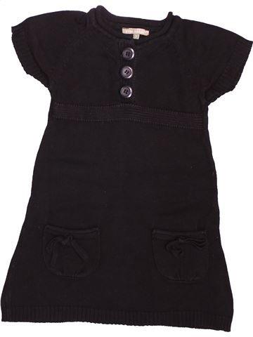 Robe fille VYNIL FRAISE marron 3 ans hiver #1499757_1