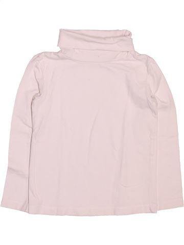 Camiseta de cuello alto unisex KIABI rosa 3 años invierno #1499770_1