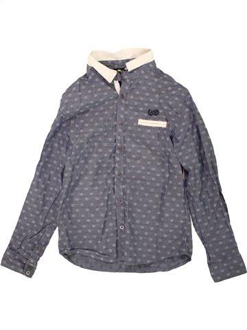 Camisa de manga larga niño ORCHESTRA gris 10 años invierno #1499783_1
