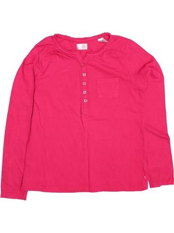 Camiseta de manga larga niña OKAIDI rosa 8 años invierno #1499785_1