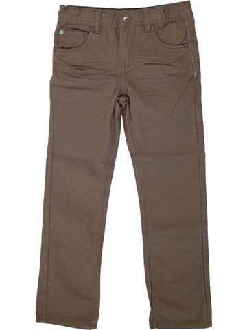 Pantalón niño VERTBAUDET marrón 7 años invierno #1499790_1