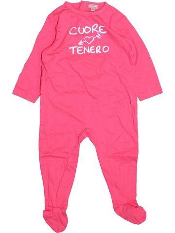 Pyjama 1 pièce fille GRAIN DE BLÉ rose 12 mois été #1499810_1