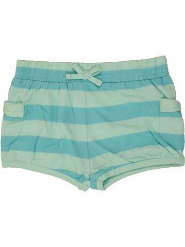 Short-Bermudas niña PRIMARK verde 18 meses verano #1499825_1