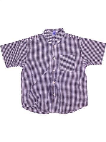 Chemise manches courtes garçon JASPER CONRAN gris 8 ans été #1499846_1
